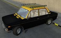 3d karachi taxi