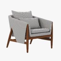 3d chair gross enne model