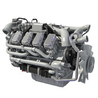 Euro 6 European Diesel Engine for Trucks and Buses