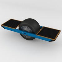 single wheel hoverboard 3ds