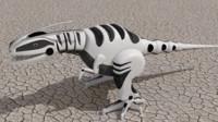 3d model dinosaur robot