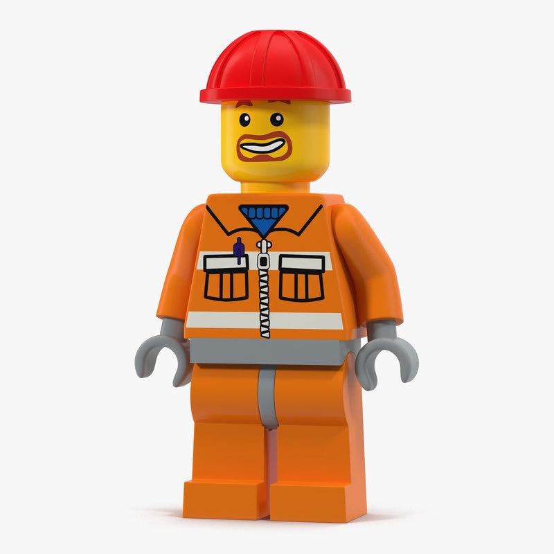Lego Man Builder 3d model 01.jpg