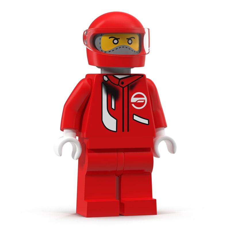 Lego Man Fireman 3d model 02.jpg