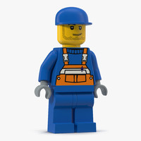 lego man worker max