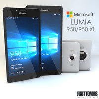 3d microsoft lumia 950-950 xl