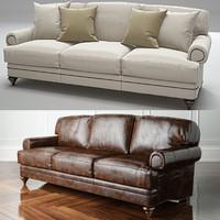 3d model westport sofa