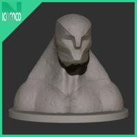 printable statuette obj free