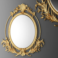 baroque oval frame max