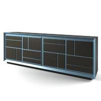 baxter maxime cabinet 3d model
