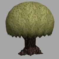 tree toon 3ds