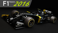 F1 Renault RS16 2016