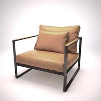 Monaco lounge chair | armchair