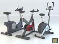 pack bikes 3d model