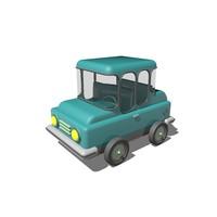 Low Poly Car