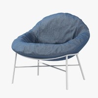 chair oyster comforty 3ds