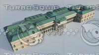 prado national museum - 3d model