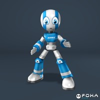 3d model robbie robot games