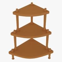 obj corner table