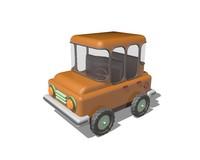 Low Poly SUV Car