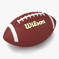 3d football wilson