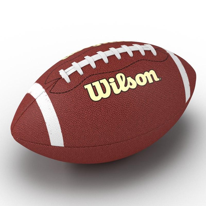 Football Wilson 3d model 02.jpg