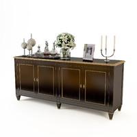 baker martine cabinet 9834 3d max