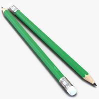 pencil generic 3d model