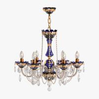 3d model elite bohemia chandelier