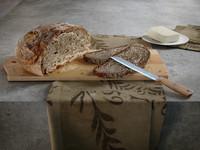 bread knife 3d model