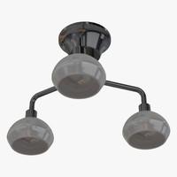 ceiling lamp chandelier 3d model