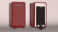 3d old refrigerator prosdocimo