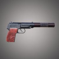 pb silent pistol makarov obj