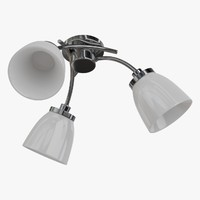 ceiling lamp chandelier 3d obj