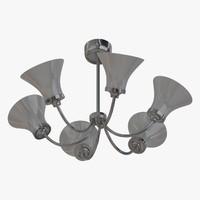 3d model of ceiling lamp chandelier