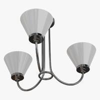 obj ceiling lamp chandelier