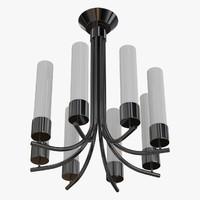 ceiling lamp chandelier obj
