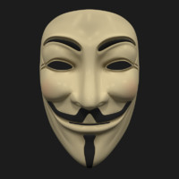 mask anonymous 3d model