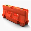Road Safety Barrier 3D models