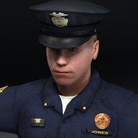 Policeman D Lightwave