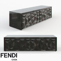 fendi cabinet royal 3d model