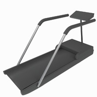treadmill tapis-roulant gym tool 3d model