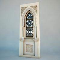 3d islamic arch model