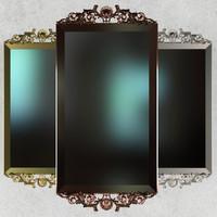 mirror classic angelo cappellini 3ds