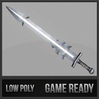 sword 13 3d model