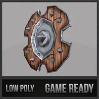 shield 03 medieval fantasy 3d 3ds