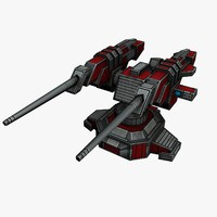 turret sci-fi 3ds
