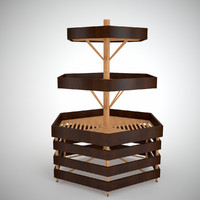bread rack 3d model