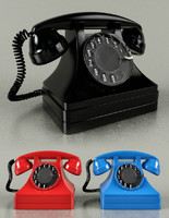 3d max rotary telephone