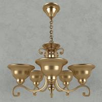 3d fine art lamp model
