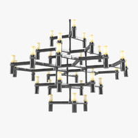 nemo crown major chandelier 3d max